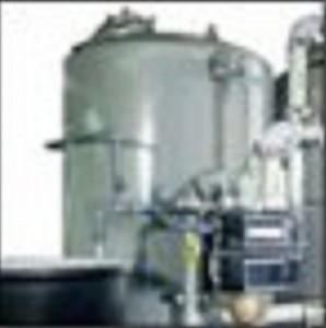 commercial water softener tank